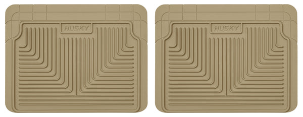 Husky Liners Heavy Duty 2nd Or 3rd Seat Rear Floor Mats for 1980-2002 Pontiac Firebird - 52023 [2002 2001 2000 1999 1998 1997 1996 1995 1994 1993 1992 1991 1990 1989 1988 1987 1986 1985 1984]