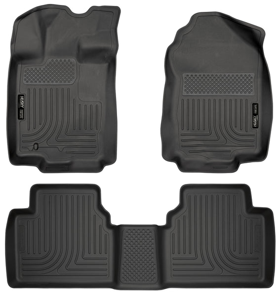Husky Liners WeatherBeater Front & 2nd Seat Rear Floor Liners Mat for 2006-2006 Lincoln Zephyr FWD - 98361 [2006]