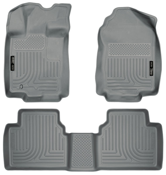 Husky Liners WeatherBeater Front & 2nd Seat Rear Floor Liners Mat for 2006-2006 Lincoln Zephyr FWD - 98362 [2006]