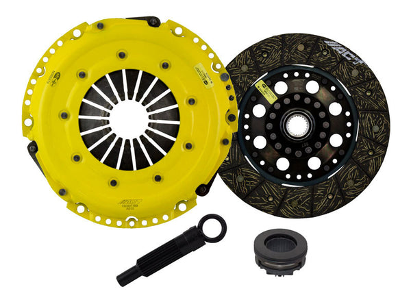 ACT Clutch Kit HD/Perf Street Rigid for 1997-2005 Audi A4 BASE, CABRIOLET L4 1.8T [DOHC;] - AA1-HDSD - (2005 2004 2003 2002 2001 2000 1999 1998 1997)