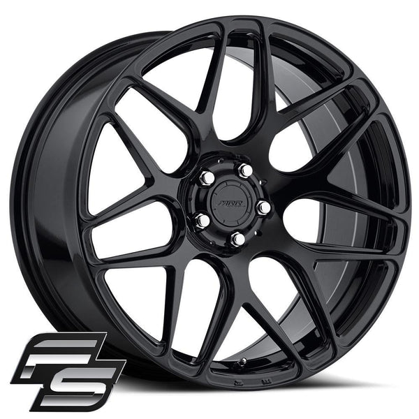 "MRR Wheels FS01 for 2001-2006 BMW M3 - 19"" [Gloss Black] - [Front and Rear] - (2006 2005 2004 2003 2002 2001)"