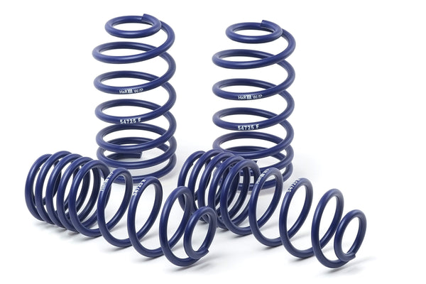H&R Sport Springs for 2004-2011 BMW 645Ci Coupe - 50466 - 2011 2010 2009 2008 2007 2006 2005 2004