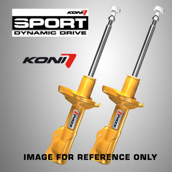 Koni Sport 2005-2007 Volvo V50 excl. AWD, Four C & self-leveling susp. - Right Front Strut - 8741 1490RSPORT - (2007 2006 2005)