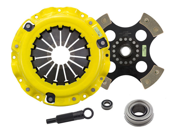 ACT Clutch Kit HD/Race Rigid 4 Pad for 1987-1989 Chrysler CONQUEST TSI L4 2.6T [SOHC;] - MS1-HDR4 - (1989 1988 1987)