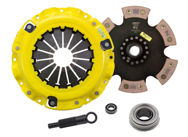 ACT Clutch Kit HD/Race Rigid 6 Pad for 1987-1989 Chrysler CONQUEST TSI L4 2.6T [SOHC;] - MS1-HDR6 - (1989 1988 1987)