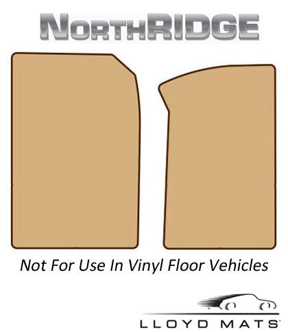 Lloyd Mats Northridge All Weather 2 Piece Front Mat for 2012-2015 Toyota Tacoma [Access Cab||] - (2015 2014 2013 2012)