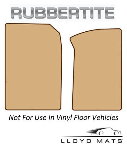 Lloyd Mats Rubbertite All Weather 2 Piece Front Mat for 1984-1986 Chevrolet K20 [Crew Cab||] - (1986 1985 1984)
