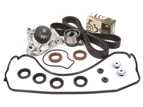 "Timing Belt Kit for 1988-1991 HONDA CIVIC DX, LX, BASE WAGON 4-DOOR 1.5L 1493CC L4 SOHC, (16 VALVE), ENG. CODE ""D15B2"" (1991 1990 1989 1988)"
