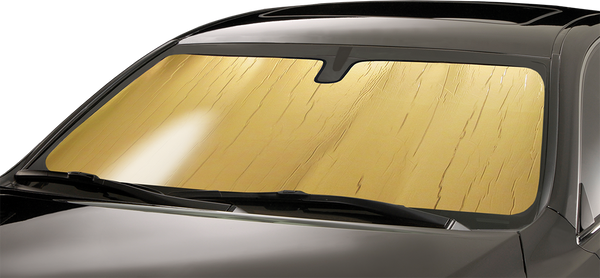 Intro-Tech Gold Roll Sun Shade for Acura Integra  1994-2001 - AC-03-G - (2001 2000 1999 1998 1997 1996 1995 1994)