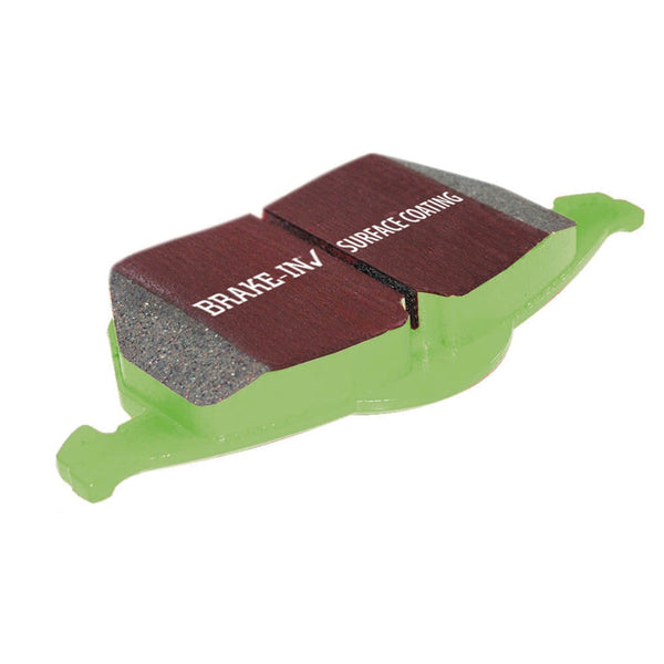 EBC Front Greenstuff 2000 Series Brake Pads for 1966-1966 Plymouth VALIANT 200 L6 3.7 - dp21157 - (1966)