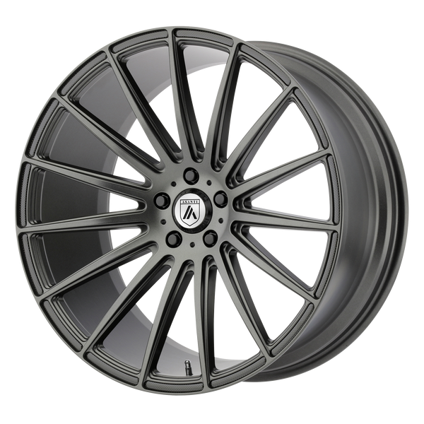"ASANTI POLARIS Matte Graphite Wheels for 2015-2018 AUDI A4 QUATTRO - 20"" x 10.5"" 38 mm 20"" - (2018 2017 2016 2015)"