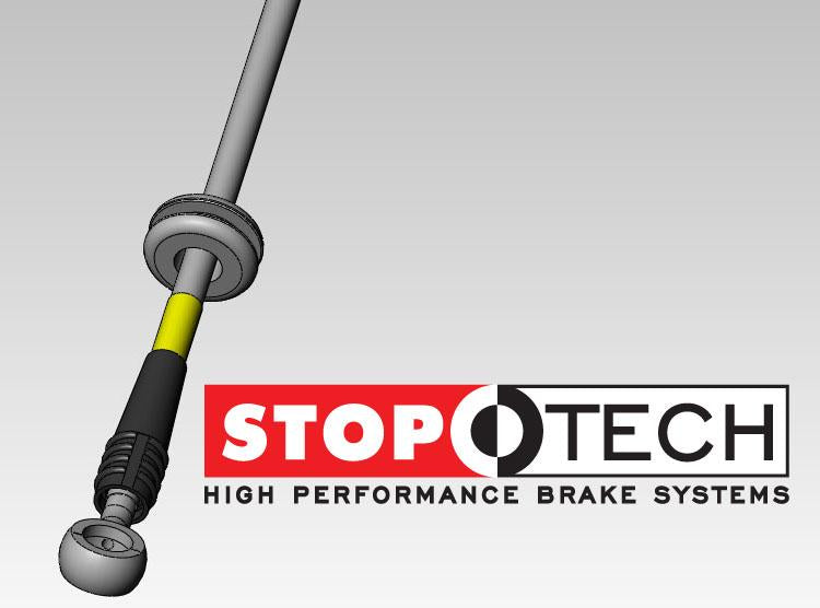 StopTech Stainless Steel Brake Lines for 2005-2010 Chevrolet SILVERADO 2500 HD - Front - 950.66005 - (2010 2009 2008 2007 2006 2005)
