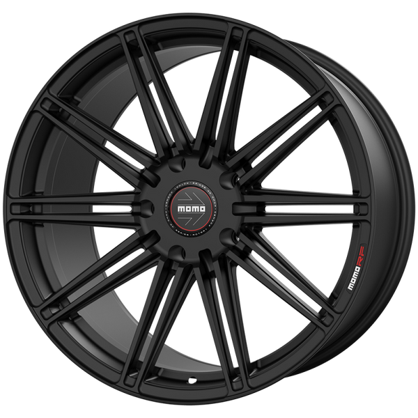 "Momo BARLETTA M103 Satin Black Wheels for 2017-2020 TESLA MODEL 3 [INC PERFORMANCE] - 19x9.5 35 - 19"" - (2020 2019 2018 2017)"
