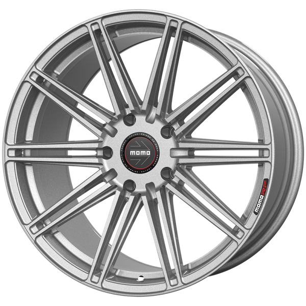 "Momo BARLETTA M104 Gloss Silver Wheels for 2017-2020 TESLA MODEL 3 [INC PERFORMANCE] - 19x9.5 35 - 19"" - (2020 2019 2018 2017)"
