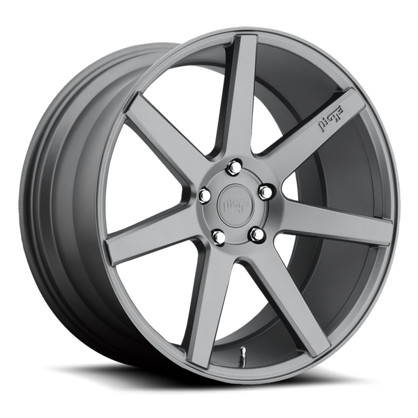 "Niche M149 Matte Gunmetal Wheels for 2003-2006 MITSUBISHI LANCER EVOLUTION - 19x8.5 35 mm - 19"" - (2006 2005 2004 2003)"