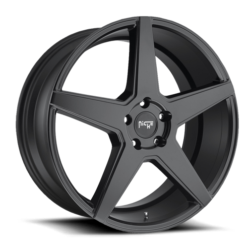 "Niche M185 Matte Black Wheels for 2004-2013 MAYBACH 57S - 20x9 38 mm - 20"" - (2013 2012 2011 2010 2009 2008 2007 2006 2005 2004)"