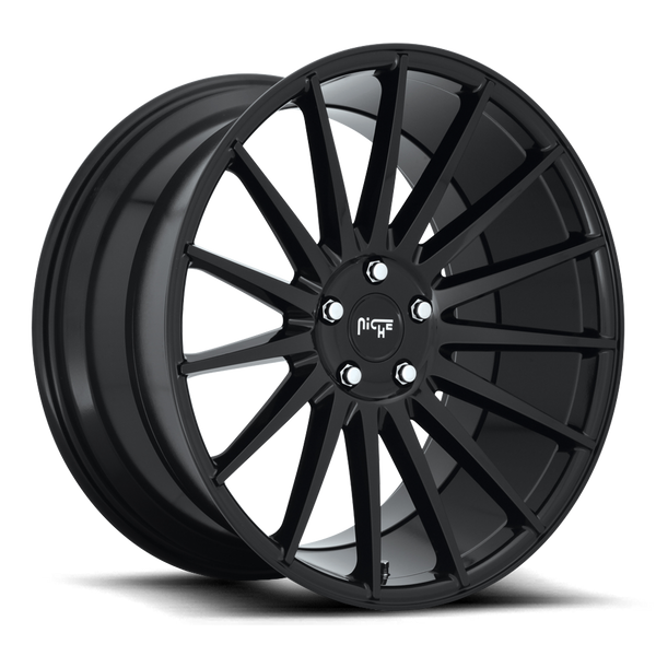 "Niche M214 Gloss Black Wheels for 2002-2006 NISSAN ALTIMA - 20x8.5 35 mm - 20""- (2006 2005 2004 2003 2002)"