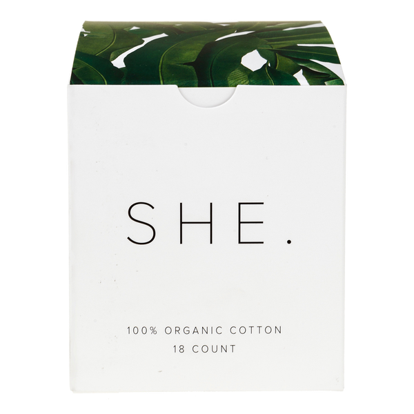SHE - Organic Tampon Subscription
