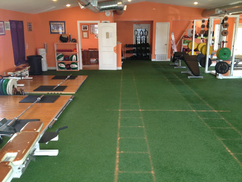 Former interior of the now closed Tangra Elite Athletics (credit: Tangra Elite Athletics on Yelp)