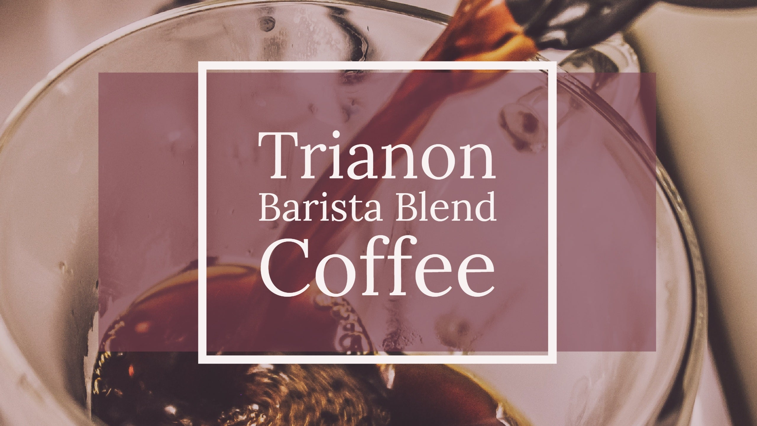 Trianon Barista Blend Coffee