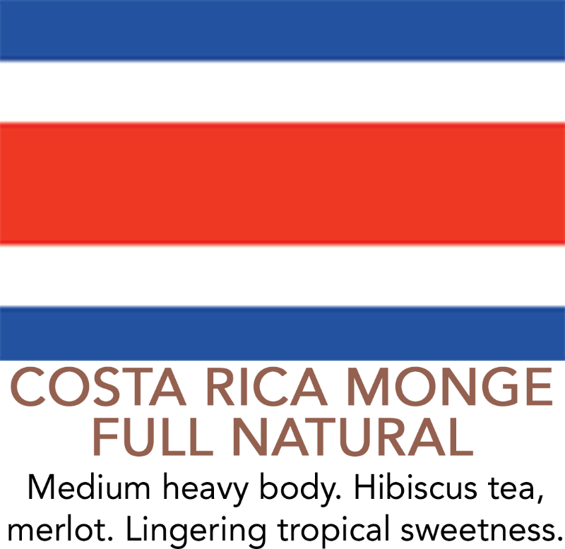 Premium Costa Rica Full Natural Coffee