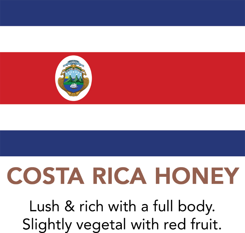 Premium Costa Rica Black Honey Coffee