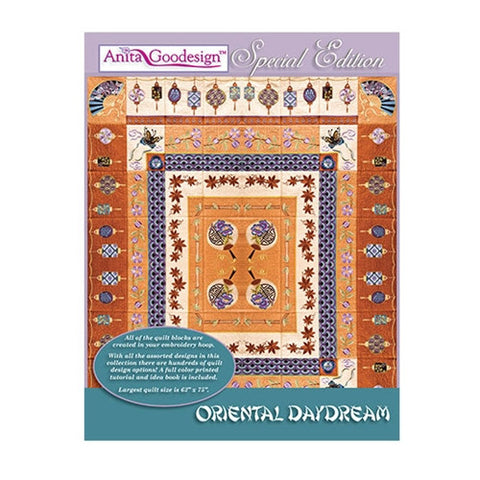 Anita Goodesign Oriental Daydream Embroidery Designs