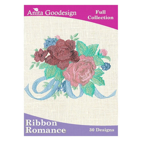 Anita Goodesign Ribbon Romance Embroidery Collection