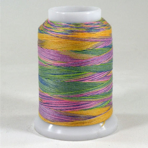 Superior Poly Quilter in Rainbow Sherbet in 500 Yard S