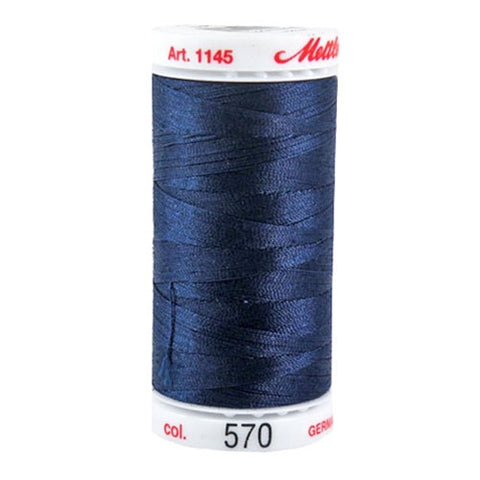 Mettler Metrosene Plus in Dark Blue in 547 Yard Spl