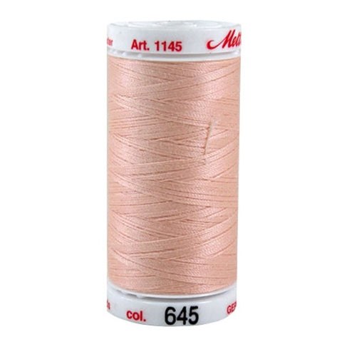 Mettler Metrosene Plus in Peach in 547 Yard Spl