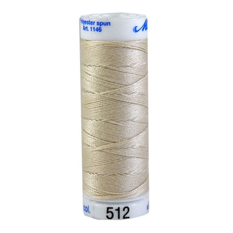 Mettler Cordonnet in Cream in 547 Yard Spl