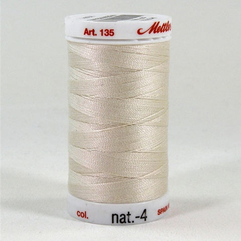 Mettler 40wt Cotton Quilting in Eggshell in 500 Yard S