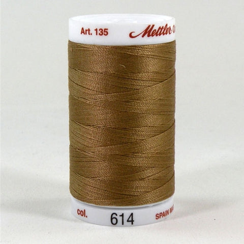 Mettler 40wt Cotton Quilting in Lt Medium Brown in 500