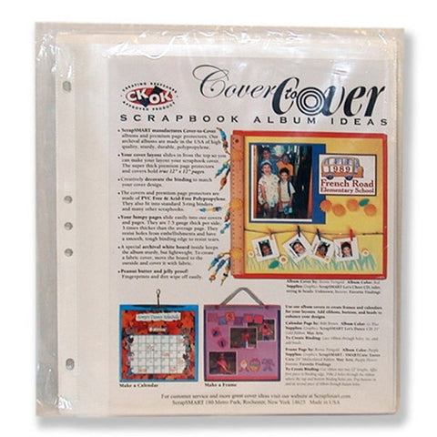 8 12 X 11 Scrapbook Album Kit By Scrapsmart Shopjoya