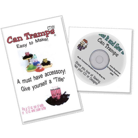 Can Tramps Design CD by Amy Baughman