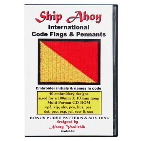 Ships Ahoy International Code Flags & Pennants CD