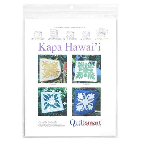 Hawaiian Pineapple Kit by Quiltsmart