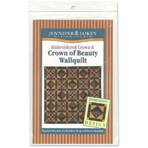 Crown of Beauty Wallquilt CD by Jennifer Lokey
