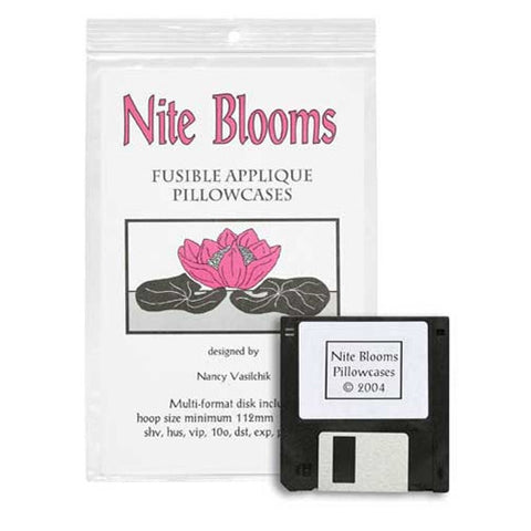 Nite Blooms Design Disk by Sew Biz