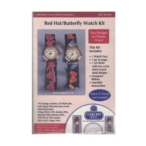 Red Hat/Butterfly Watch Kit CD by Sudberry House