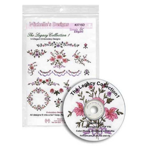 The Legacy Collection 1 CD by Michelle's Designs
