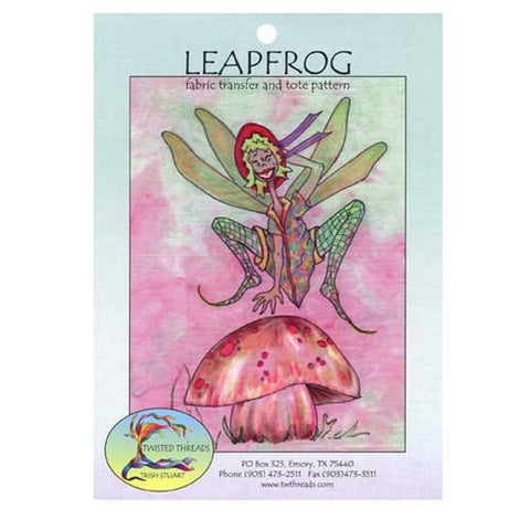 Leapfrog Fabric Transfer & Tote by Twisted Threads