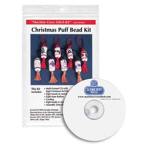 Christmas Puff Bead Kit by Sudberry House