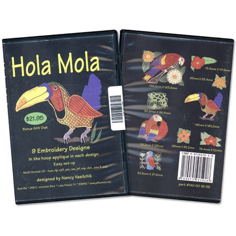 Hola Mola Design CD by Sew Biz