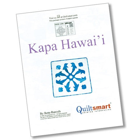 Dolphin, Kapa Hawaii by Quiltsmart