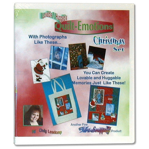 Quilt Emotions Christmas Set CD by Cindy Losekamp