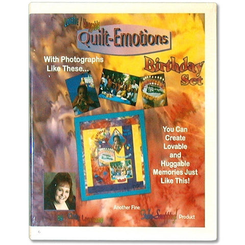 Quilt Emotions Birthday Set CD by Cindy Losekamp