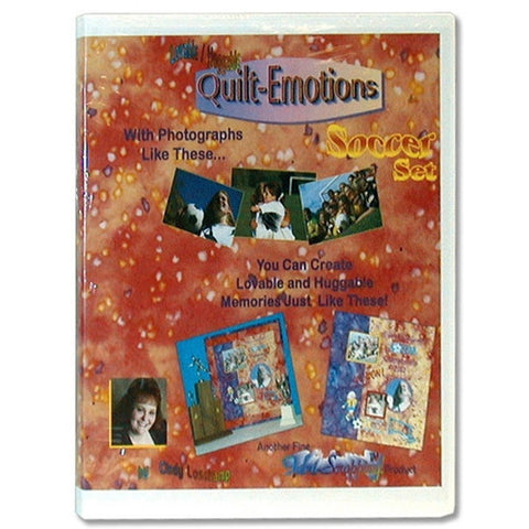 Quilt Emotions Soccer Set CD by Cindy Losekamp