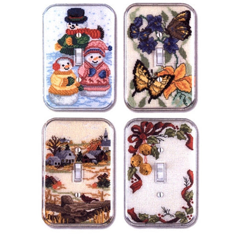 Four Seasons Single Switchplate Kit by Sudberry House